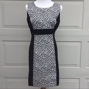 Rachel Zoe Ricky Snow Leopard Animal Print Dress